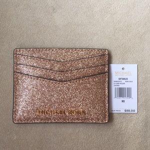 Michael Kors Rose Gold Card Holder